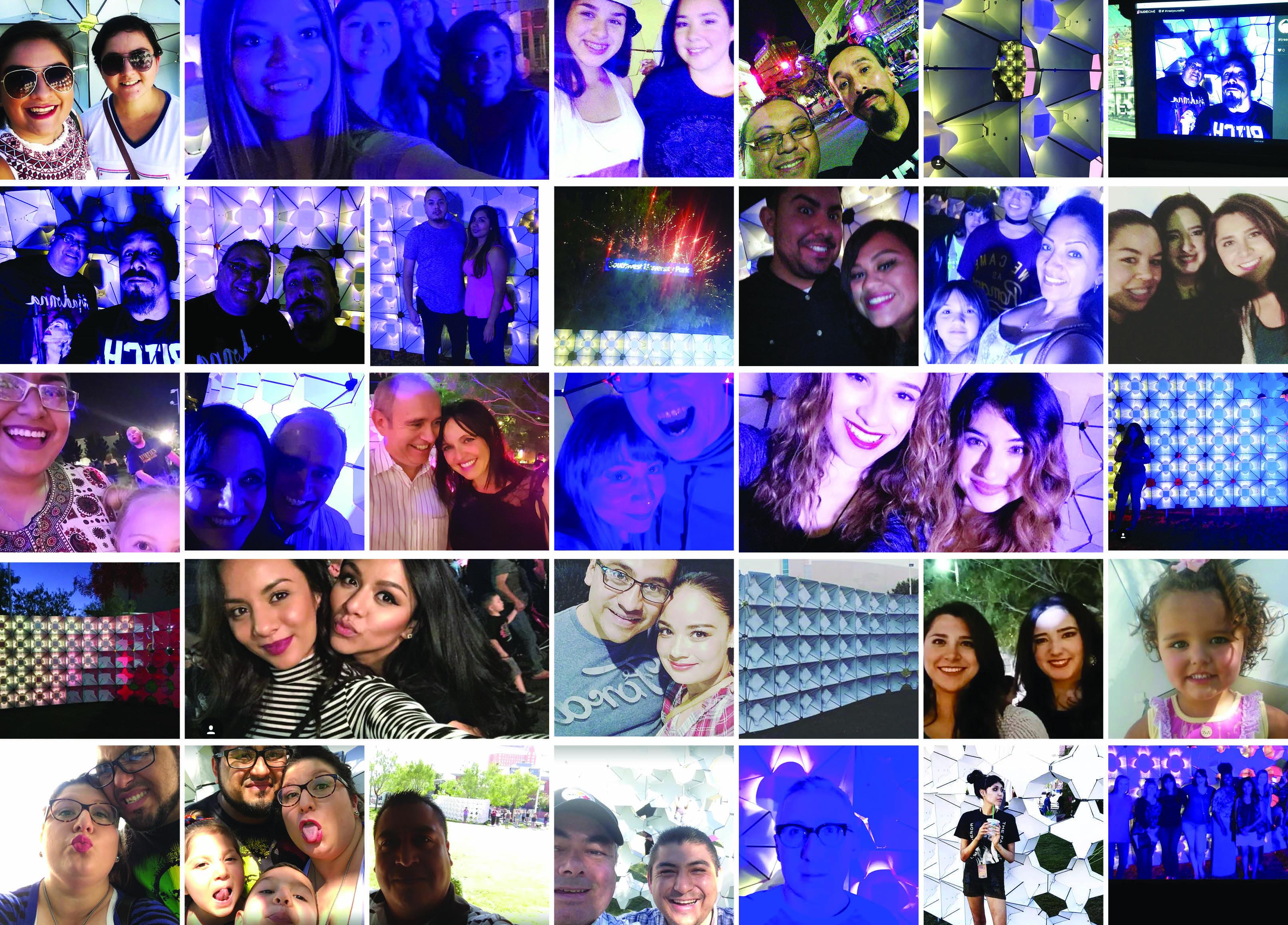 Selfie Wall